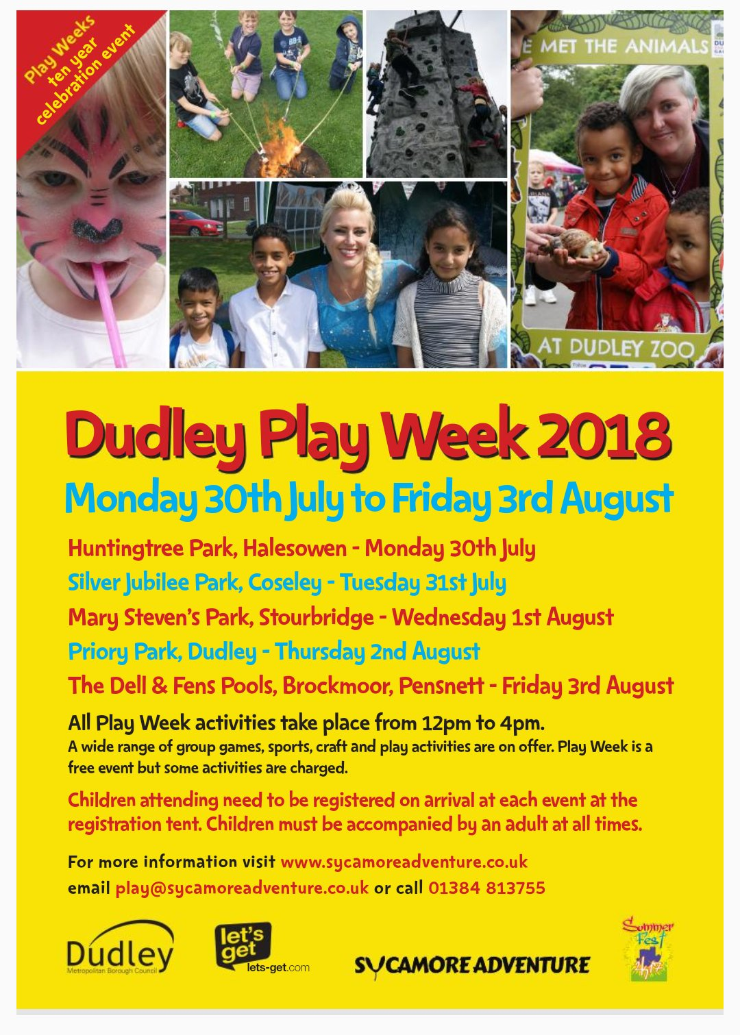 Dudley Play week 2018
