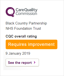 CQC January 2019 Report Widget
